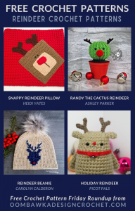 Free Crochet Reindeer Patterns - Free Pattern Friday