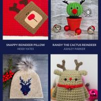 Free Crochet Reindeer Patterns - Free Pattern Friday
