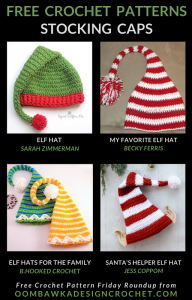 Free Crochet Stocking Cap Patterns - Free Pattern Friday Oombawka Design Crochet
