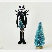 Jack Skellington Doll Featured at Wednesday Link Party 374
