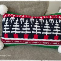 Mosaic Christmas Pillow - Wednesday Link Party