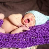 Newborn Long Stocking Cap by Anna Wilson