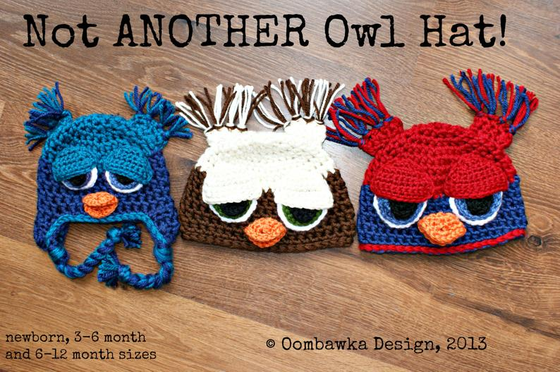 Not Another Owl Hat Baby to Child