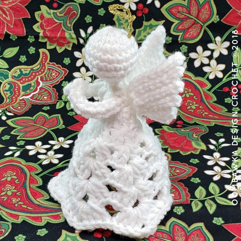 Patience. A Crochet Angel Pattern by Oombawka Design 2
