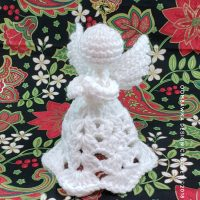 Patience. A Crochet Angel Pattern.