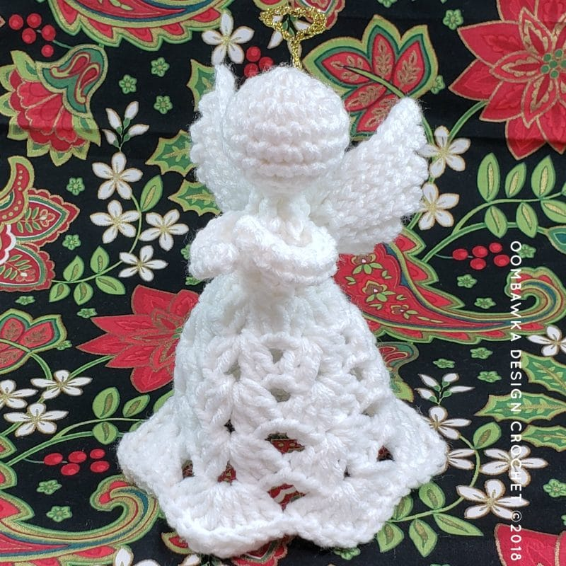 Patience. A Crochet Angel Pattern by Oombawka Design 3