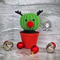 Randy the Cactus Reindeer