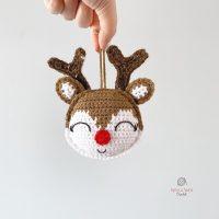 Reindeer Ornament -FPF