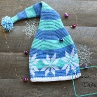 Snowflake Stocking Hat by Divine Debris