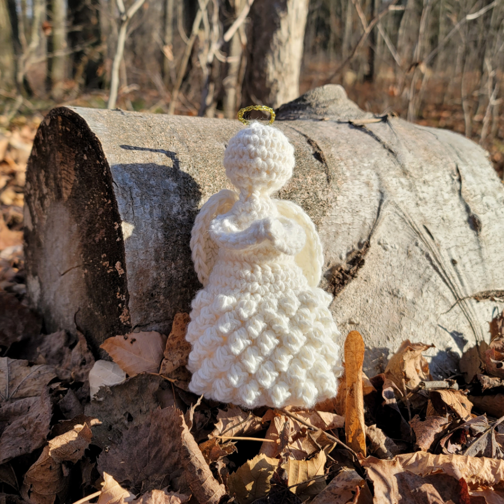 Temperance Crochet Angel Pattern ODC 2020