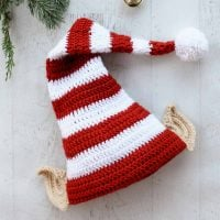 Santa's Helper Elf Hat by Jess Coppom