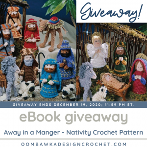 Away in a Manger Giveaway ends Dec192020 at 1159pmet
