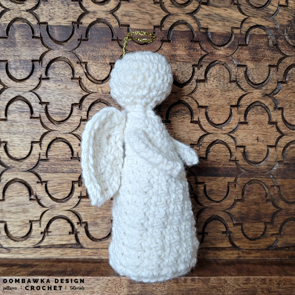 Oombawka Design Angel Pattern - Chastity a Crocheted Angel