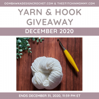 December 2020 Yarn and Hook Giveaway Prize Pack