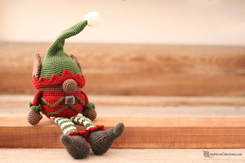 Christmas Elf Gnome - Free Pattern Friday