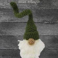 Free Crochet Corkscrew Gnome Pattern