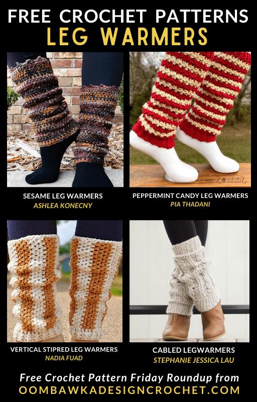Free Crochet Leg Warmers Patterns