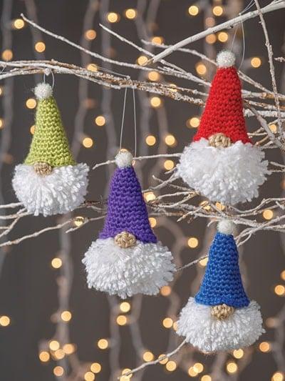 Puffball Gnome Ornament Pattern