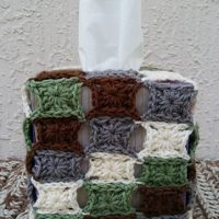 Granny's Stashbusting Tissue Box Cover - Free Pattern Friday