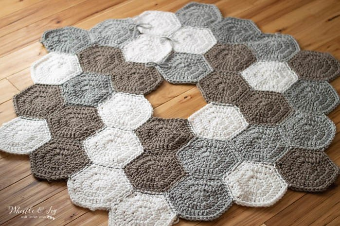 Hexagon Tree Skirt - FPF