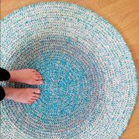 How-to-Crochet-Round-Rag-Rug-Wool-Acrylic