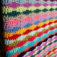 Lazy Waves Blanket - Free Pattern Friday