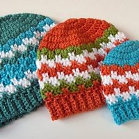 Leaping Stripes Beanie - Free Pattern Friday