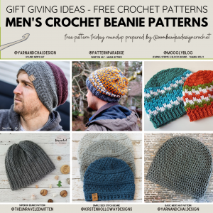 Men's Crochet Beanie Patterns Free Pattern Friday 2020