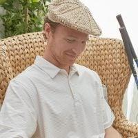 Men's Vintage Golf Hat - Yarnspirations - Free Pattern Friday