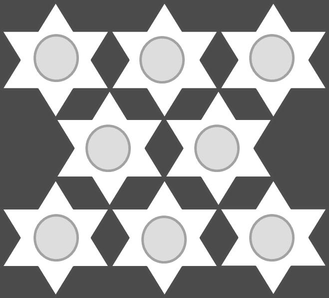 Autumn Stars Infinity Scarf Pattern - Melanie Grobler - Ending Side Diagram for Joining
