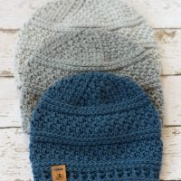 Simple Seed Stitch Beanie for Men - Free Pattern Friday