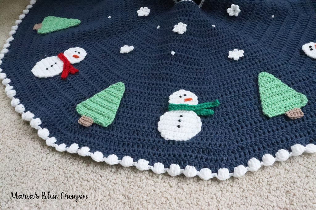 Snowman Tree Skirt - FPF
