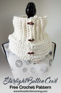 Starlight-Button-Cowl-Free-Crochet-Pattern