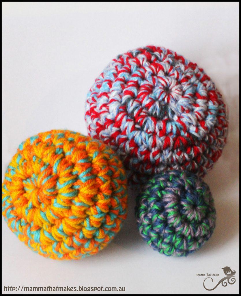 Stashbuster Balls - Free Pattern Friday