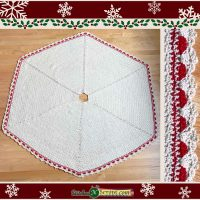 Textured Tree Skirt - FPF