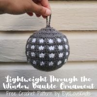 Through the Window Bauble