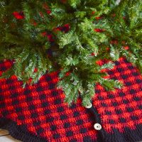 Buffalo Plaid Tree Skirt - FPF
