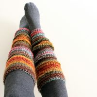 Beginner Leg Warmers - Free Pattern Friday