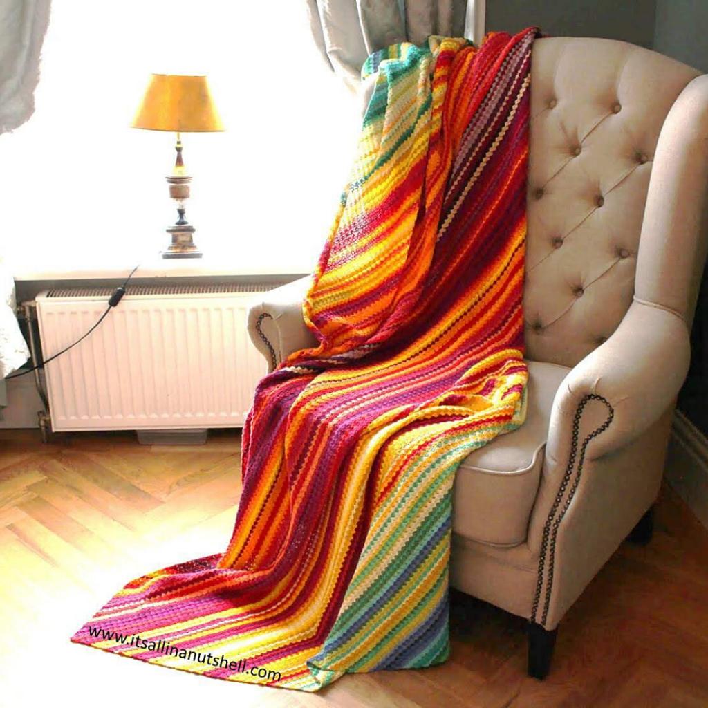 C2C Temperature Blanket - Free Pattern Friday Roundup