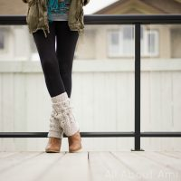 Cabled Legwarmers - Free Pattern Friday