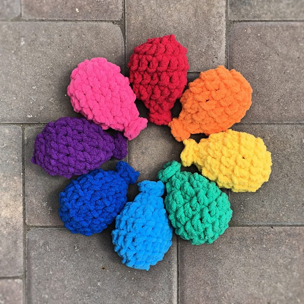 Crochet Water Balloons Free Pattern Friday