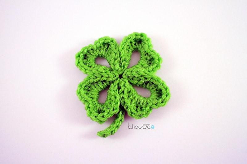 Four Leaf Clover - Free Pattern Friday
