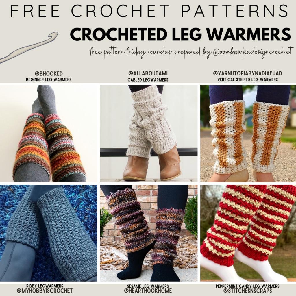 Free Crochet Leg Warmers Patterns crochetersofinstagram