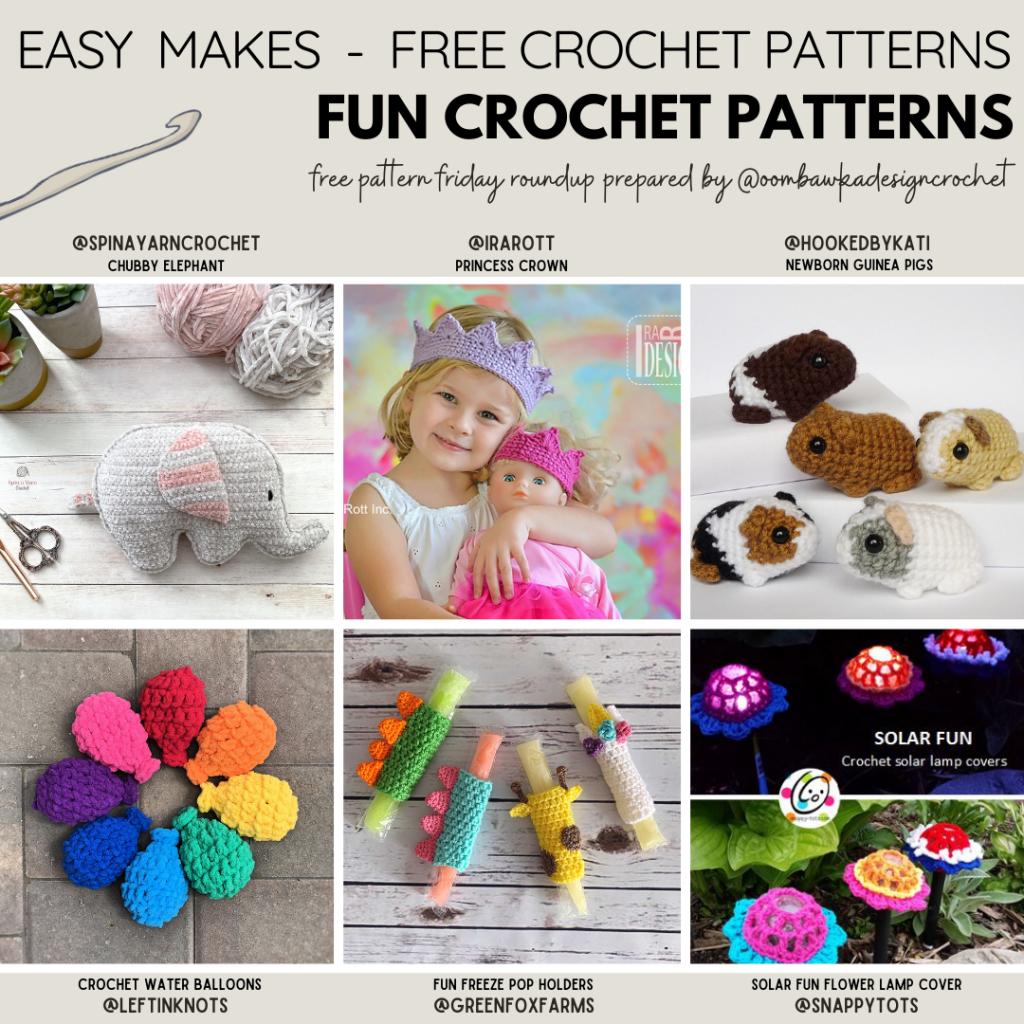 Fun Crochet Patterns Free Pattern Friday