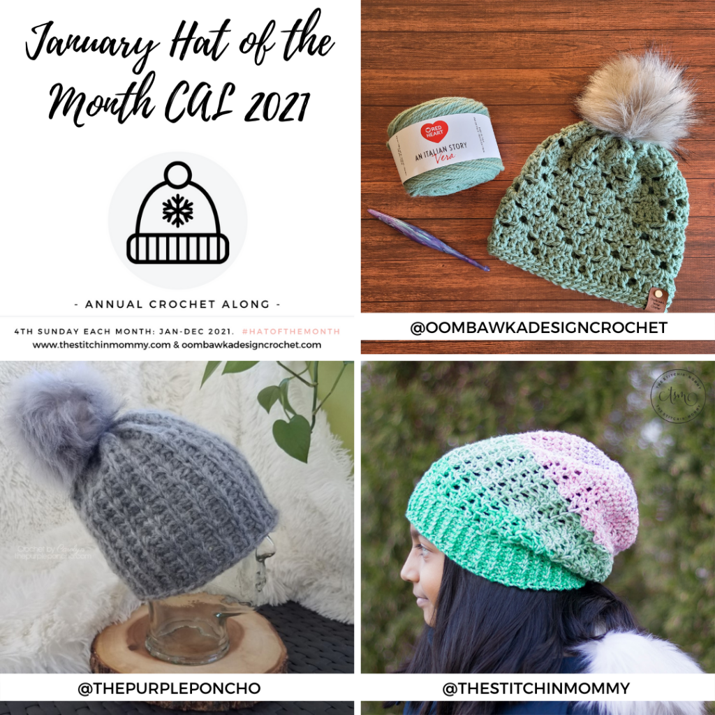 January Hat of the Month CAL 2021 1080x1080