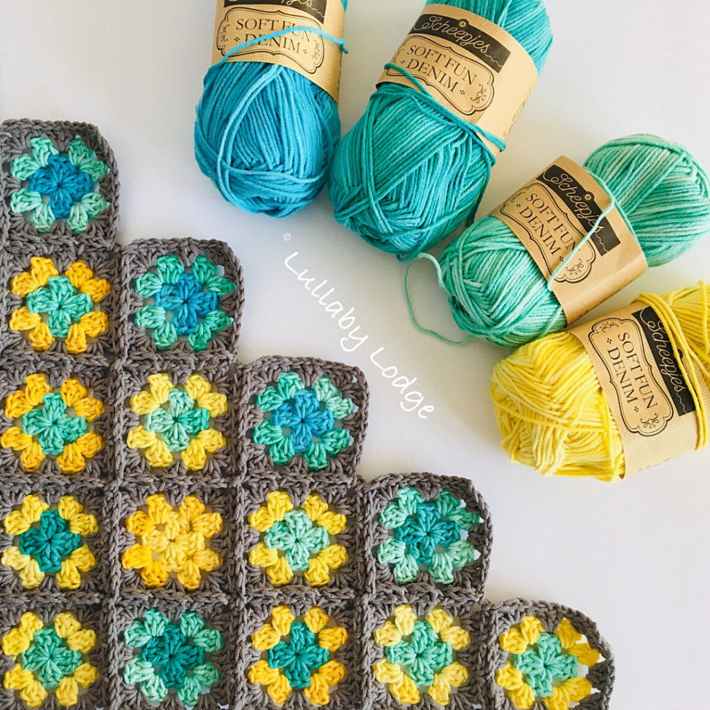 Hot and Cold Temperature Blanket -Free Pattern Friday