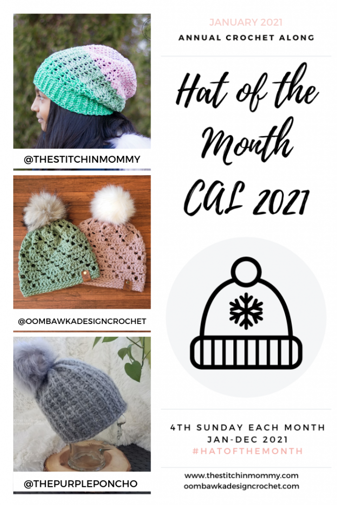 JANUARY Hat of the Month CAL 2021 GRID PIN