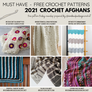 Must Have Crochet Afghan Patterns 2021 Patterns Free Pattern Friday