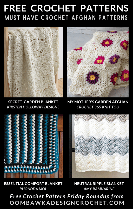 Must Have Crochet Afghan Patterns