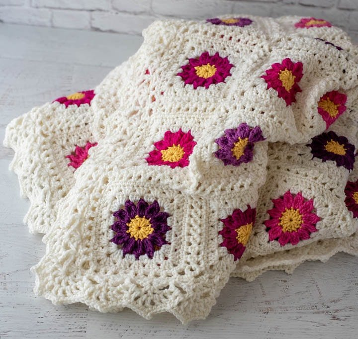 My Mother Garden Afghan - Free Pattern Friday